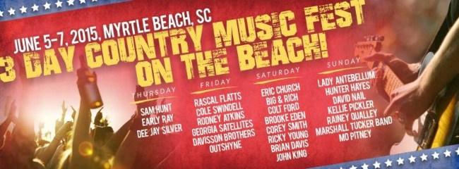 Where to Find a Vacation Rental During the Carolina Music Festival