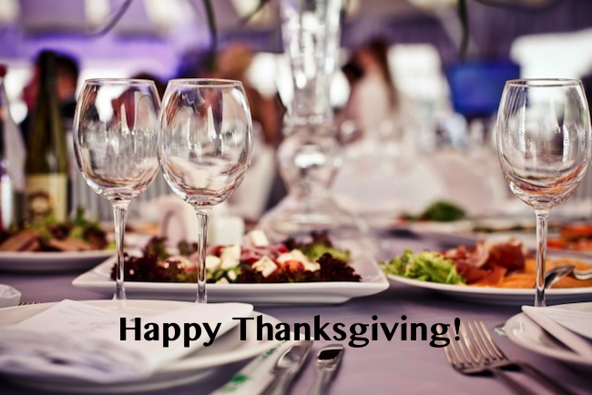 Happy Thanksgiving from Grand Strand Resorts