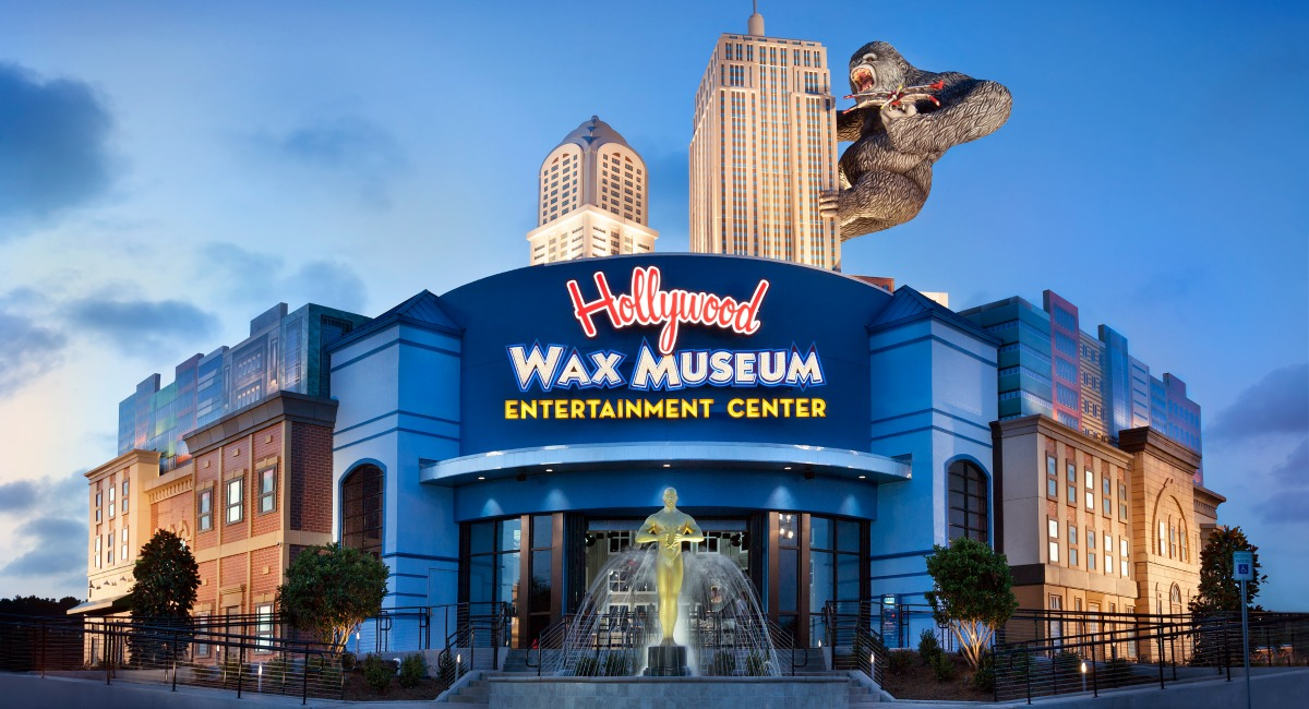The Hollywood Wax Museum Entertainment Center