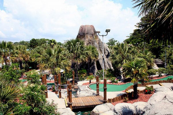 Volcano Mini Golf North Myrtle Beach
