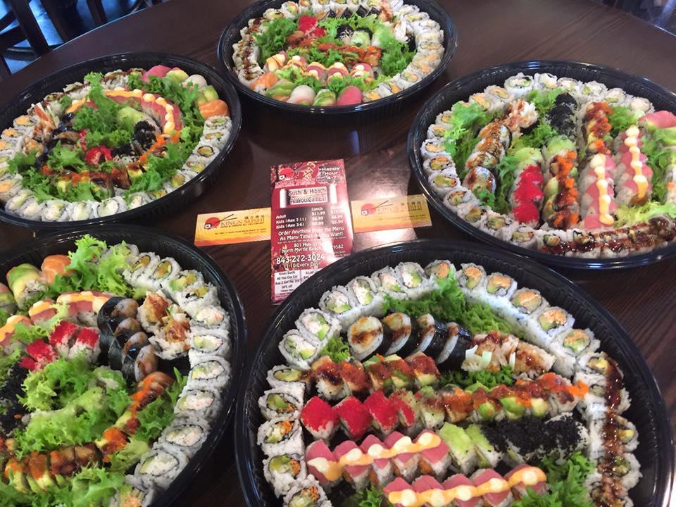 Sensational 1 Rated Sushi Restaurants In North Myrtle Beach Grand Home Interior And Landscaping Pimpapssignezvosmurscom