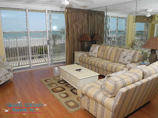 2 Bedroom Condo For Rent Myrtle Beach Holiday Suites SouthTwo 2