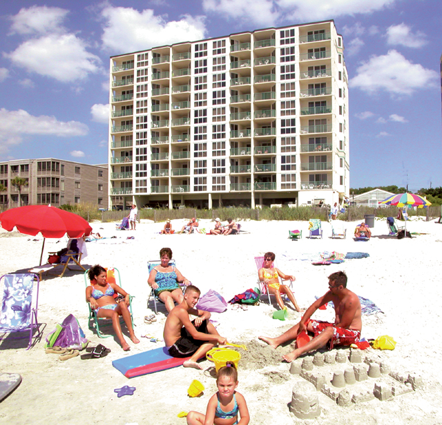 Pinnacle 3 Br Condo Rentals North Myrtle Beach Oceanfront Rentals