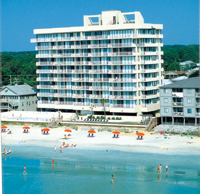 Shoreham Towers Ii Condo Rentals North Myrtle Beach